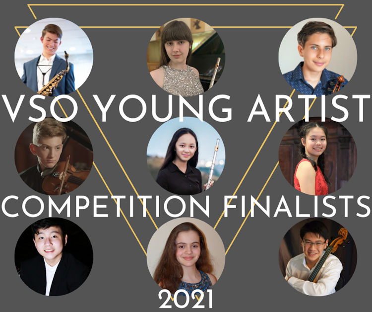 Vancouver Symphony Orchestra 2021 Young Artist Competition finalists